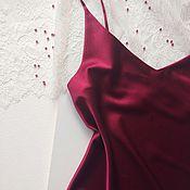 Одежда handmade. Livemaster - original item Silk cami top. Handmade.