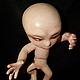 Коллекционные куклы ручной работы. Ярмарка Мастеров - ручная работа. Купить Авторская игрушка инопланетянин. Handmade. Бежевый, авторская кукла