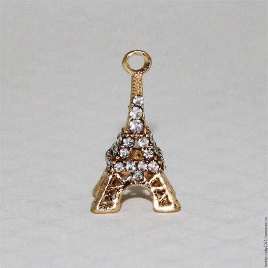 Фурнитура, подвеска из металла `Эйфелева башня`
