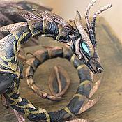 Куклы и игрушки handmade. Livemaster - original item Bronze dragonache. Handmade.