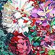 """Картины цветов ручной работы. """"Сочный букет со смородиной"""" картина маслом,мастихином. СветКартины Svetlana Samsonova. Ярмарка Мастеров."""