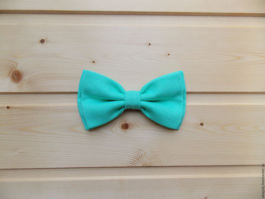 галстук бабочка / мятная бабочка галстук
