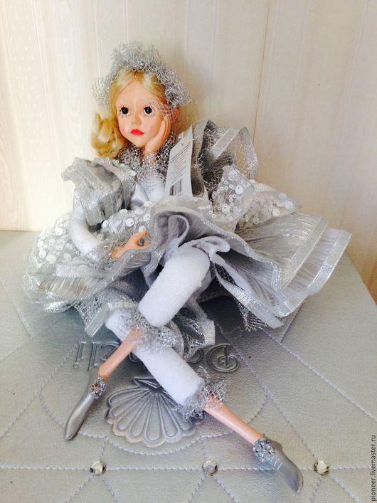 Статуэтки ручной работы. Ярмарка Мастеров - ручная работа. Купить Кукла керамическая заводная около 35 см НОВАЯ. Handmade.