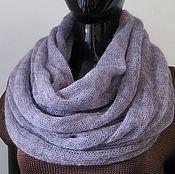 Аксессуары ручной работы. Ярмарка Мастеров - ручная работа Снуд шарф из кид-мохера в 2 оборота. Handmade.