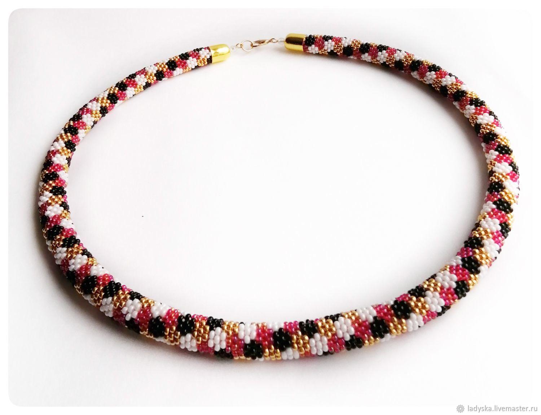 Necklace-harness ' FLOWER', Necklace, Smolensk,  Фото №1