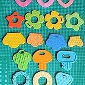 Куклы и игрушки ручной работы. Ярмарка Мастеров - ручная работа Зубо - прорезыватель, основа, грызунок. Handmade.