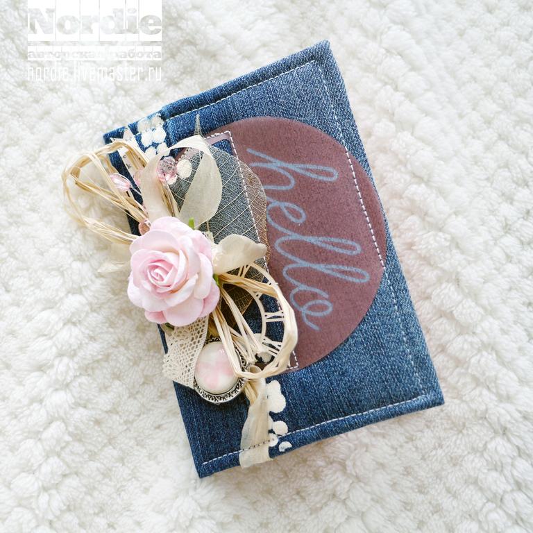 Днем матери, джинсовые открытки