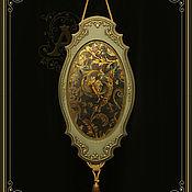 """Для дома и интерьера ручной работы. Ярмарка Мастеров - ручная работа Зеркало-панно-""""Возрождение"""". Handmade."""