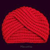Аксессуары manualidades. Livemaster - hecho a mano Knitted cap-turban Shamakhanskaya Tsarina.. Handmade.