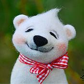 """Куклы и игрушки ручной работы. Ярмарка Мастеров - ручная работа Интерьерная игрушка"""" Медвежонок Умка"""". Handmade."""