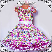 Работы для детей, handmade. Livemaster - original item Baby dress