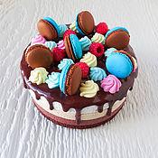 "Шкатулка ""Торт три шоколада"""