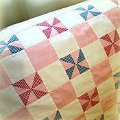 Для дома и интерьера ручной работы. Ярмарка Мастеров - ручная работа Детский лоскутный плед в коляску или кроватку. Handmade.
