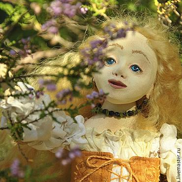 Куклы и игрушки ручной работы. Ярмарка Мастеров - ручная работа Лисичкина;))Будуарная кукла.. Handmade.