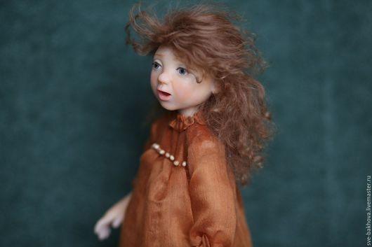 Коллекционные куклы ручной работы. Ярмарка Мастеров - ручная работа. Купить коллекционная кукла Симпатуля. Handmade. Рыжий, симпатичная куколка