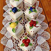 Винтаж handmade. Livemaster - original item Villeroy&Boch, Jars for jam, jam, marmalade.. Handmade.