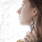 Украшения handmade. Livemaster - original item Elven Wind Earrings (e-036-01). Handmade.