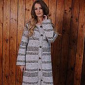 Одежда ручной работы. Ярмарка Мастеров - ручная работа Вязаное пальто ручной работы. Handmade.