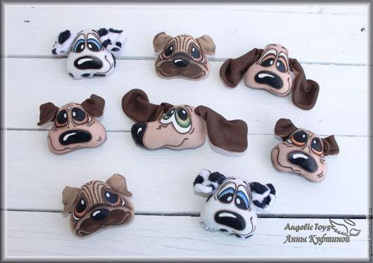 """Игрушки животные, ручной работы. Ярмарка Мастеров - ручная работа. Купить брошки-брелки собачки """"Милые крошки"""". Handmade. Собака"""