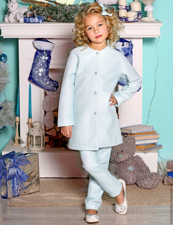 Комплект  и пальто для девочки