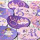 Подарки для новорожденных, ручной работы. Заказать Набор наклеек для фотосессии новорождённых Принцесса. Волшебные штучки от ЁLKi. Ярмарка Мастеров. Наклейка