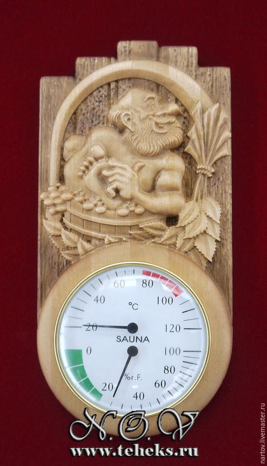 Термометр и гигрометр для бани