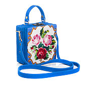Сумки и аксессуары handmade. Livemaster - original item Exclusive briefcase beaded Elegant flowers. Handmade.