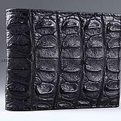 Сумки и аксессуары handmade. Livemaster - original item Wallet crocodile leather IMA0225B22. Handmade.