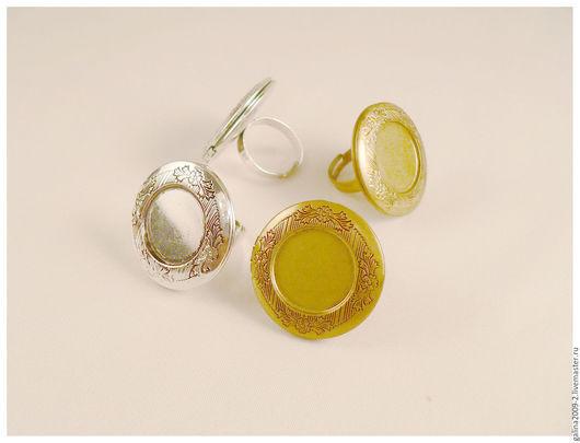 Для украшений ручной работы. Ярмарка Мастеров - ручная работа. Купить Основа для кольца, диаметр 32 мм.. Handmade. Комбинированный