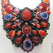 Украшения handmade. Livemaster - original item A set of jewelry from natural stones. Handmade.