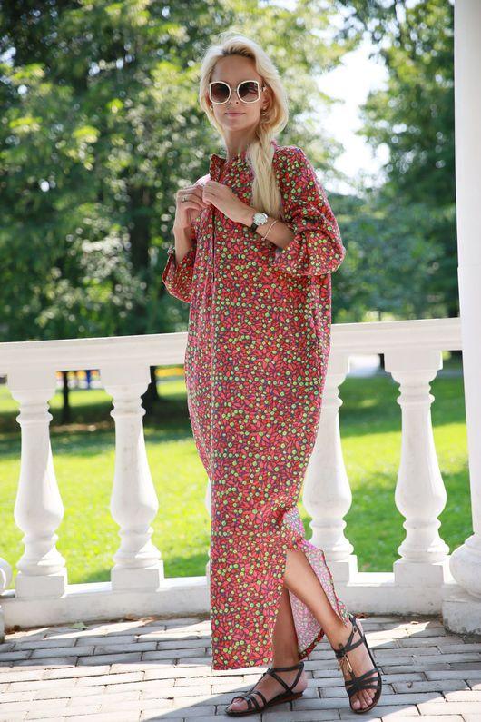 Пляжные платья ручной работы. Ярмарка Мастеров - ручная работа. Купить Платье EGGDRESS WILD ROSE. Handmade. Летнее платье