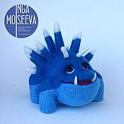 Куклы и игрушки ручной работы. Ярмарка Мастеров - ручная работа Сосуля, войлочный зверь. Handmade.