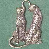 Материалы для творчества handmade. Livemaster - original item Leopards. Handmade.