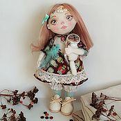 Тыквоголовка ручной работы. Ярмарка Мастеров - ручная работа Кукла винтажная. Handmade.