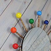 Для дома и интерьера ручной работы. Ярмарка Мастеров - ручная работа Зеркало интерьерное настенное Радуга. Handmade.
