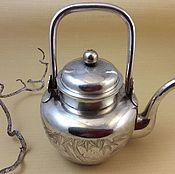 Чайник из серебра 960 пробы. Корея/СССР.