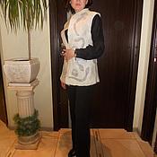 Одежда handmade. Livemaster - original item vest felted Tenderness. Handmade.