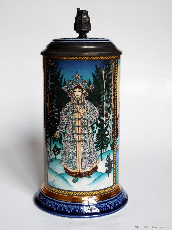 Vintage Kitchenware. Livemaster - handmade. Buy Porcelain mug from V&B snow maiden.Porcelain, porcelain