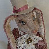 Куклы и игрушки ручной работы. Ярмарка Мастеров - ручная работа Лиловый Кролик (продан). Handmade.