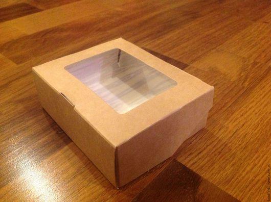 Подарочная упаковка ручной работы. Ярмарка Мастеров - ручная работа. Купить Крафт коробка. Handmade. Бежевый, крафт упаковка