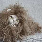Куклы и игрушки handmade. Livemaster - original item Cat Plato. Very fluffy )). Handmade.