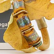 """Украшения ручной работы. Ярмарка Мастеров - ручная работа Браслет Regaliz """"Листопад"""". Handmade."""