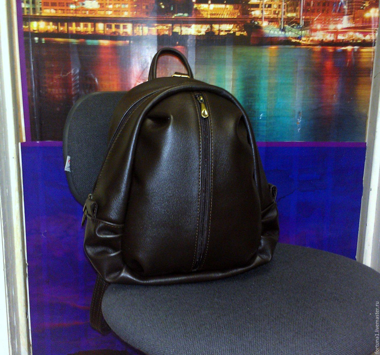 Backpack leather 89, Backpacks, St. Petersburg,  Фото №1