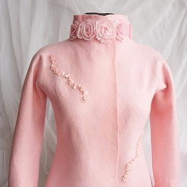 """Одежда ручной работы. Ярмарка Мастеров - ручная работа Жакет """" Утренняя роза"""". Handmade."""