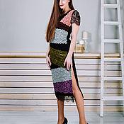 Одежда ручной работы. Ярмарка Мастеров - ручная работа Платье - комбинация. Handmade.