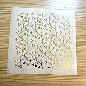 Штампы ручной работы. Ярмарка Мастеров - ручная работа Золотой стикер № 1160. Handmade.