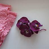 Брошь - Орхидеи