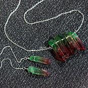 Украшения handmade. Livemaster - original item Set with quartz crystals