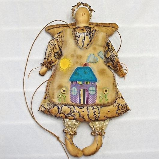 Ароматизированные куклы ручной работы. Ярмарка Мастеров - ручная работа. Купить Чердачный Ангел. Handmade. Разноцветный, оберег для дома