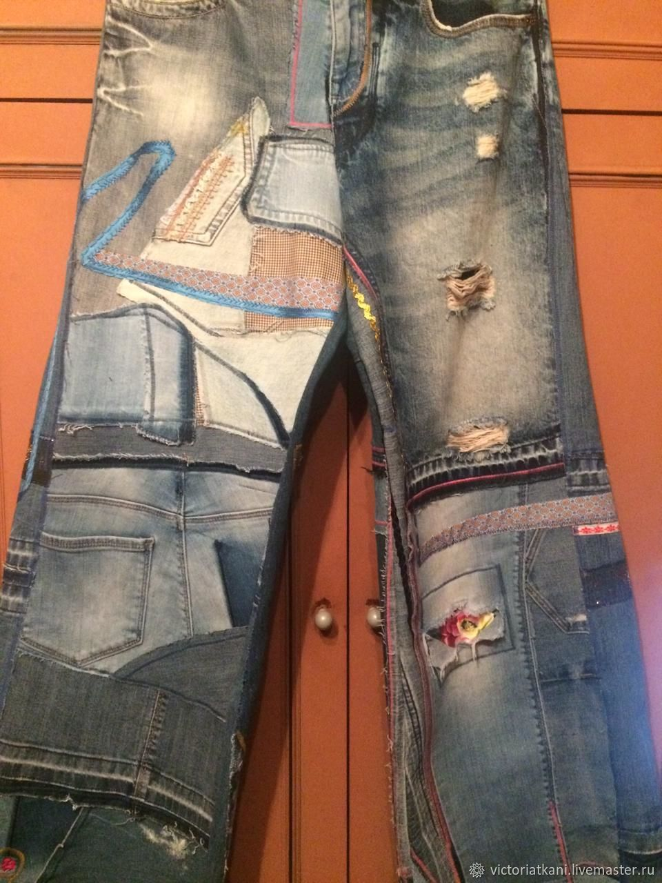 Jeans in the style of Boho Otpad, Jeans, Moscow,  Фото №1